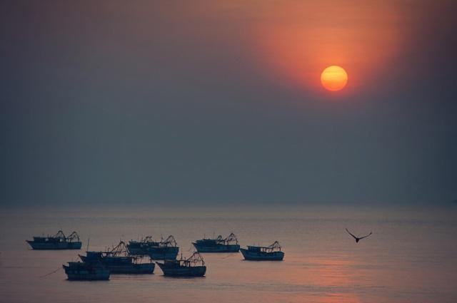 021 - sunset at rameswaram