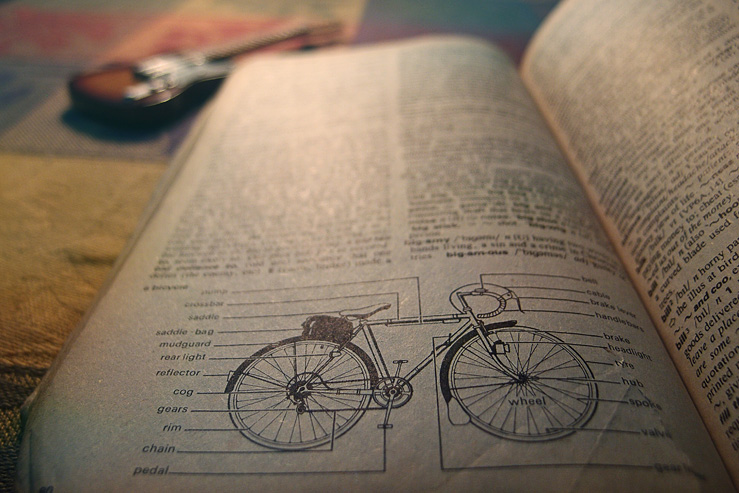 072 - Bicycle Oxford Dict
