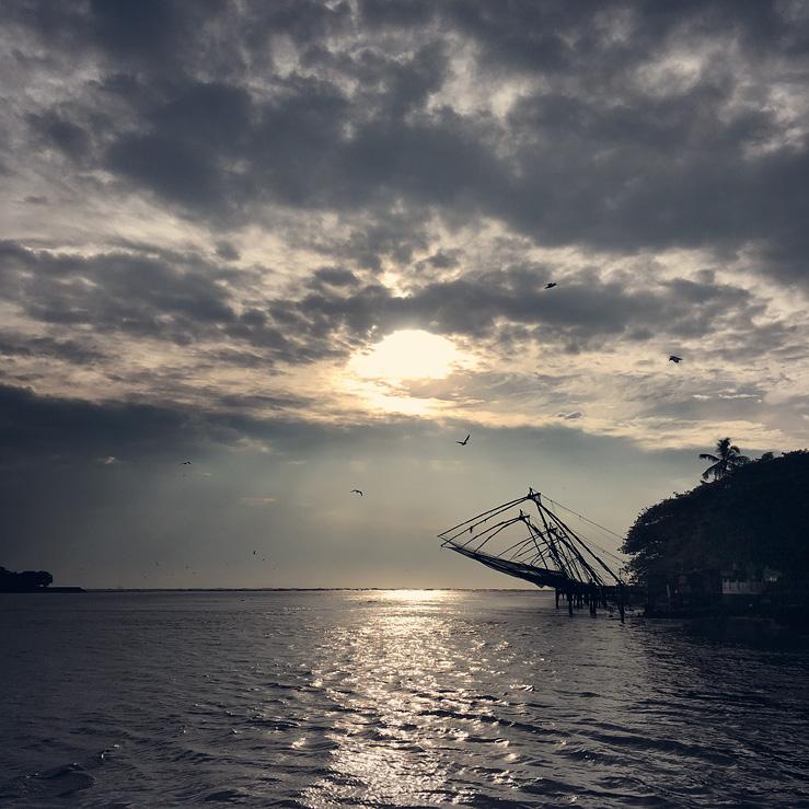 073 - Chinese fishing nets