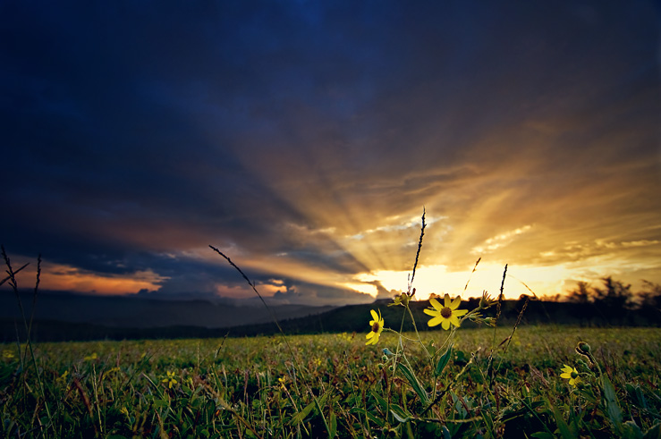 087 - sunset in kaas