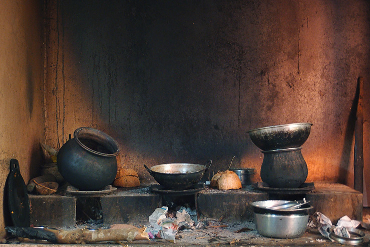 098 - firewood stove