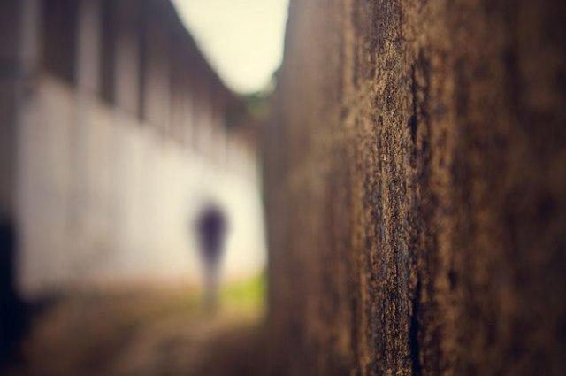 101 - blurred man walking